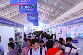 Vietnam Expo Hanoi - International fair for machinery and electronics, food and beverage